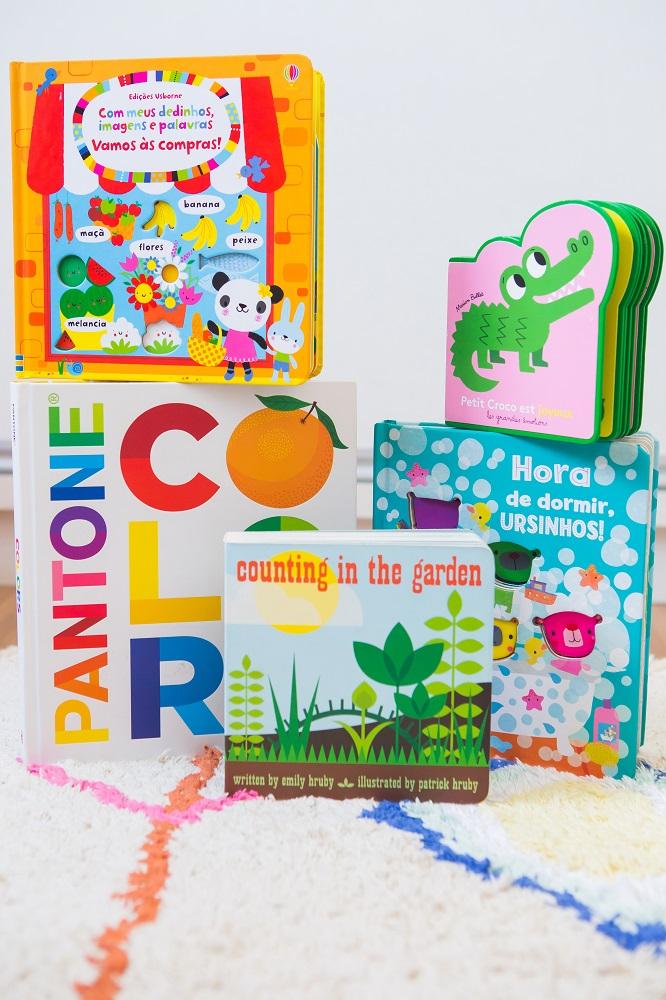 Dicas de livros infantis para crianças de 1 a 2 anos
