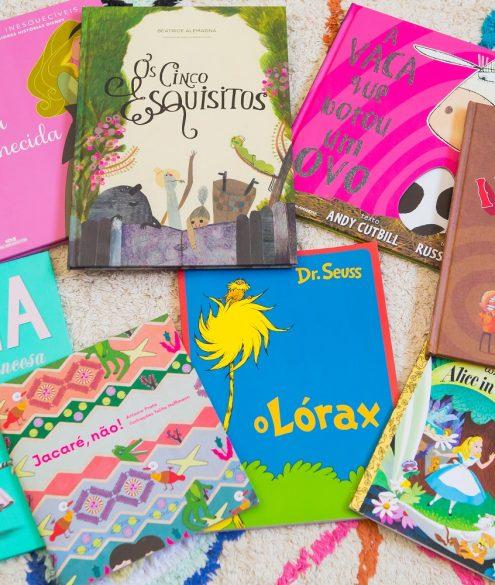 Dicas de livros para crianças de 3 a 4 anos