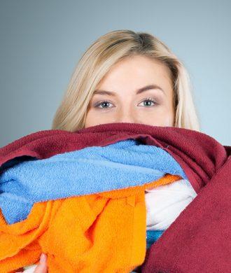 Roupa de cama limpa