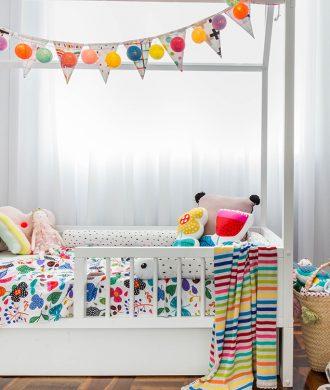 Arquiteta Thaisa Bohrer conta sobre quarto de suas filhas