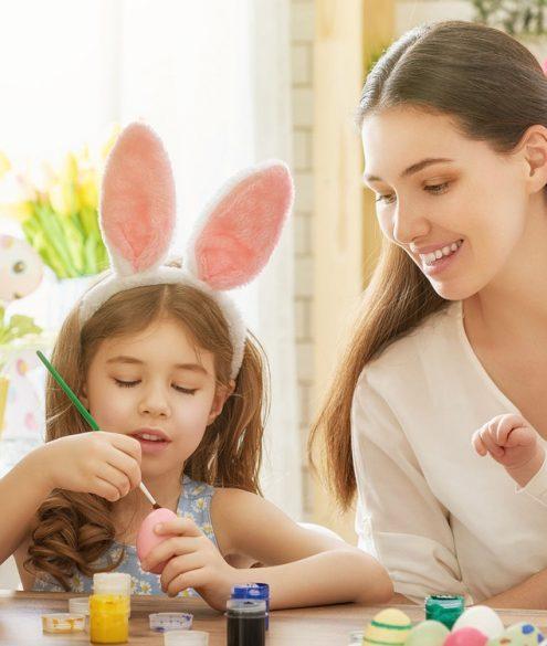 5 brincadeiras para fazer com as crianças na Páscoa