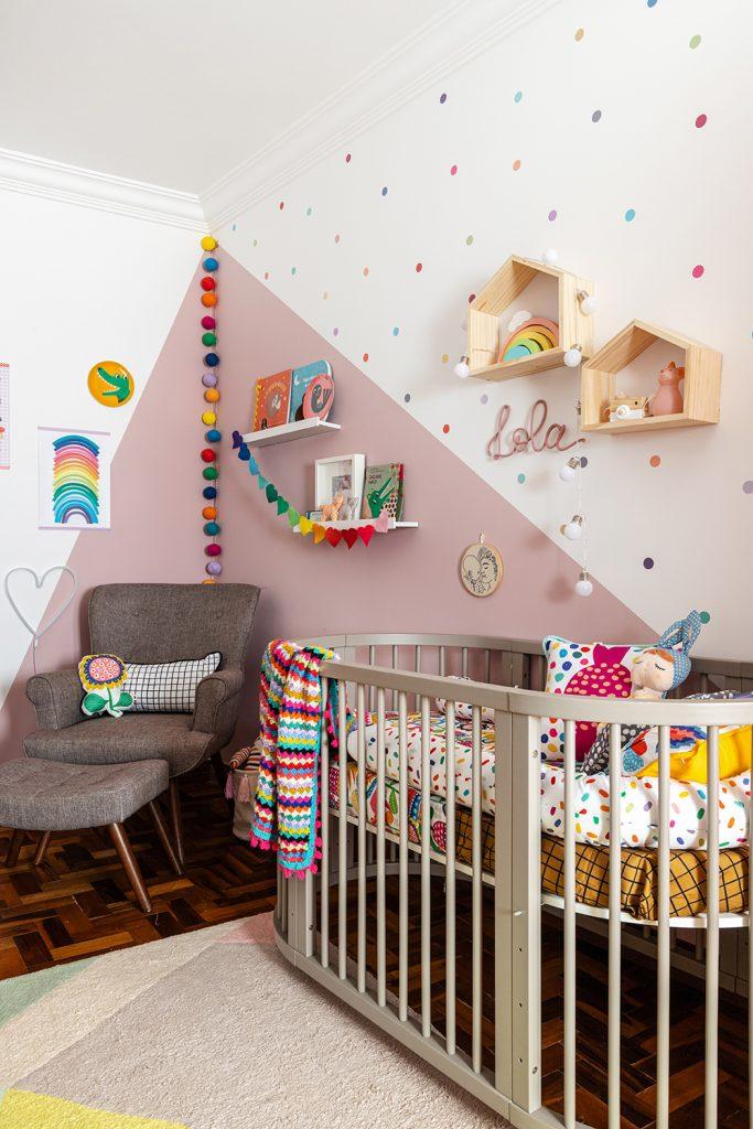 quarto rosa para menina