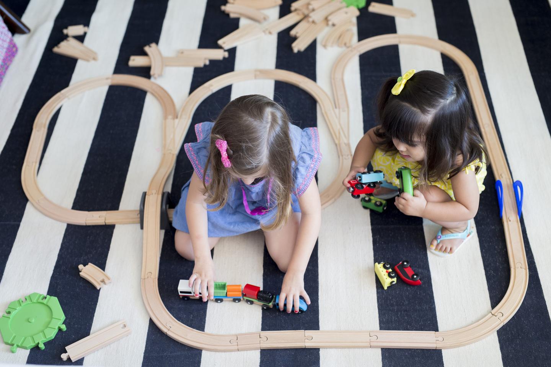 construindo cidades com as crianças de até 6 anos