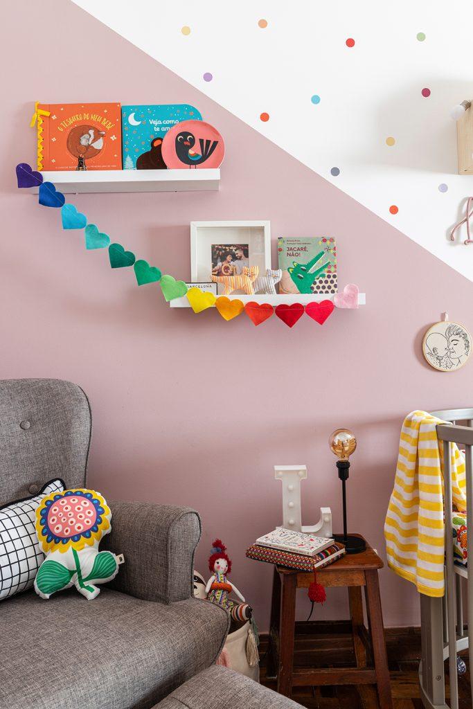 decoração de quarto rosa