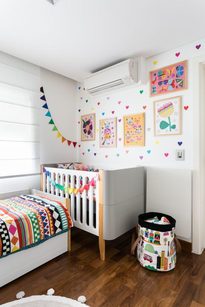 quarto compartilhado bebê e menino
