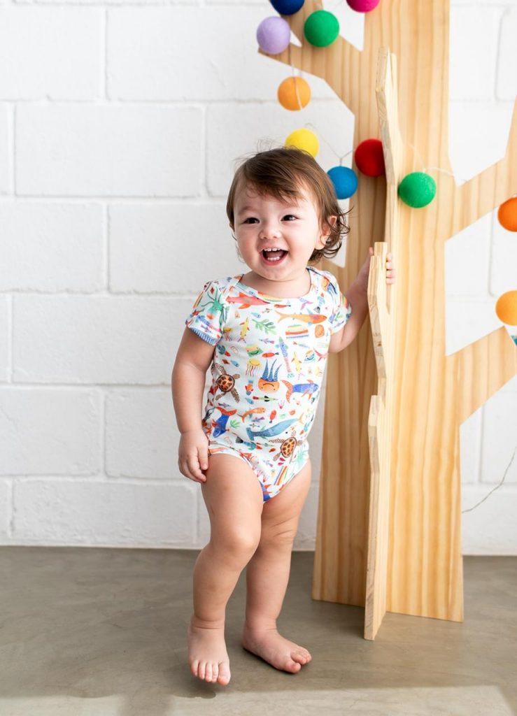 presente para recém-nascido: body